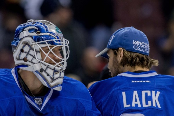 The Vancouver Canucks have place goaltender Jacob Markstrom on waivers.