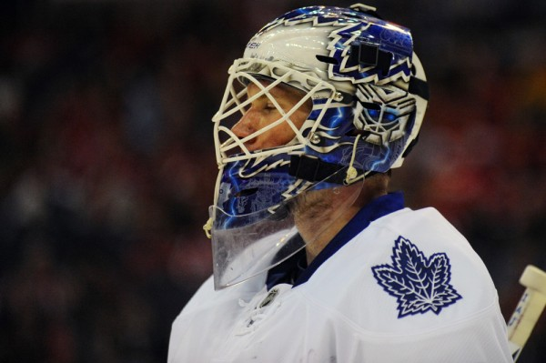 James Reimer might still be dealing with some confidence issues.