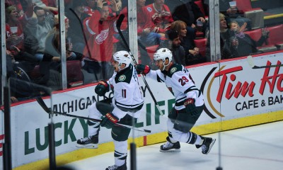 NHL: JAN 20 Wild at Red Wings