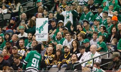 NHL: JAN 20 Bruins at Stars