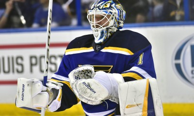 NHL: JAN 19 Avalanche at Blues