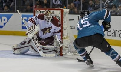 NHL: NOV 22 Coyotes at Sharks