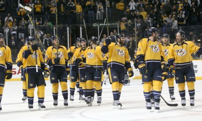NHL: FEB 12 Jets at Predators