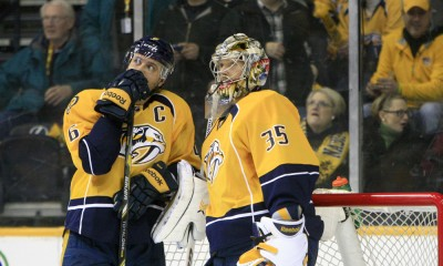 NHL: FEB 17 Sharks at Predators