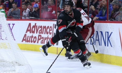 NHL: NOV 01 Coyotes at Hurricanes