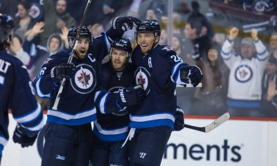 NHL: FEB 08 Avalanche at Jets