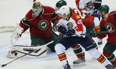 NHL: FEB 12 Panthers at Wild