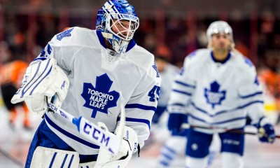 NHL: JAN 31 Maple Leafs at Flyers