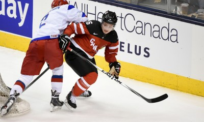 HOCKEY: DEC 19 World Junior Championship Exhibition Game - Canada v Russia