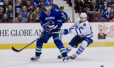 NHL: MAR 14 Leafs at Canucks