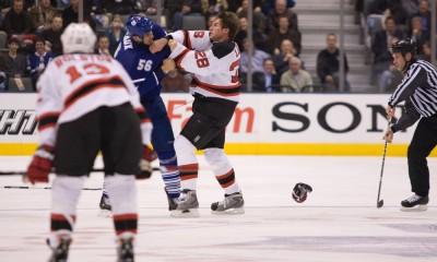 NHL: DEC 16  Devils at Leafs