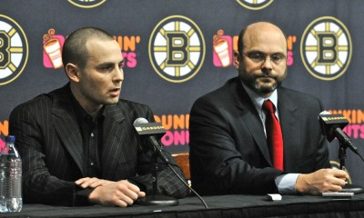 NHL: MAR 27 Marc Savard Press Conference