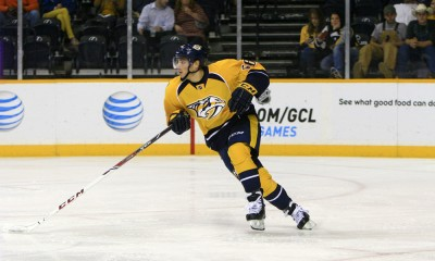 NHL: SEP 29 Preseason - Blue Jackets at Predators