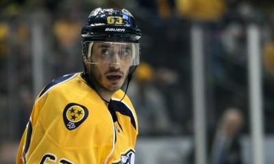 NHL: JAN 27 Avalanche at Predators