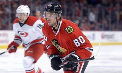 Antoine Vermette is set to have a big impact with the Chicago Blackhawks.