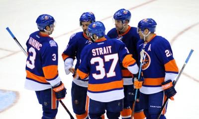 NHL: MAR 29 Red Wings at Islanders