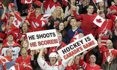 HOCKEY: JAN 05 World Junior Hockey Championships - Canada v Finland