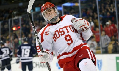 NCAA HOCKEY: MAR 20 Hockey East Championship - New Hampshire v Boston University