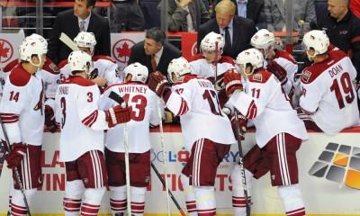 NHL: NOV 21 Coyotes at Capitals