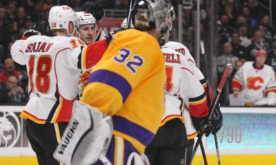 NHL: FEB 12 Flames at Kings
