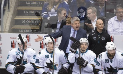 NHL: MAR 19 Sharks at Maple Leafs