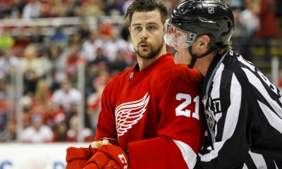 NHL: MAR 22 Blues at Red Wings