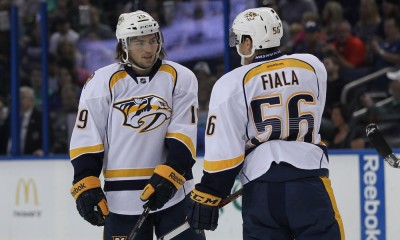 NHL: SEP 23 Preseason - Predators at Lightning