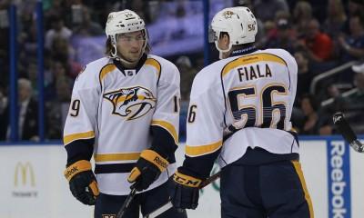 NHL: SEP 23 Preseason - Predators at Lightning
