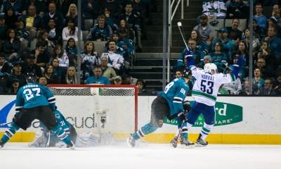 NHL: MAR 07 Canucks at Sharks