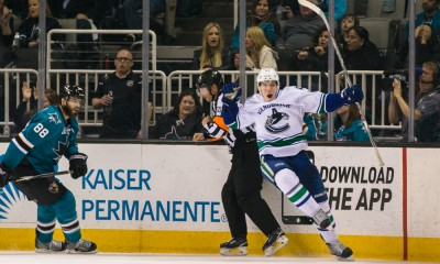 NHL: MAR 07 Canucks at Sharks