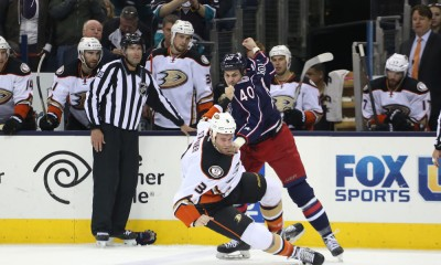 NHL: MAR 24 Ducks at Blue Jackets