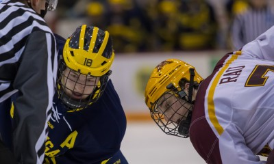 NCAA HOCKEY: FEB 14 Michigan at Minnesota