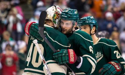 NHL: FEB 22 Stars at Wild