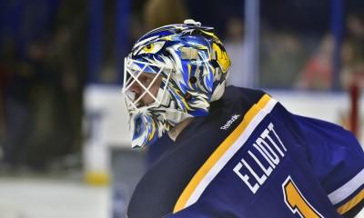 NHL: FEB 08 Blackhawks at Blues