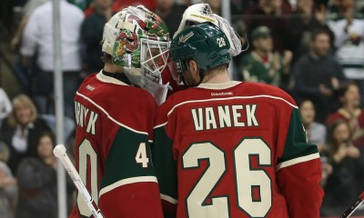 NHL: MAR 10 Devils at Wild