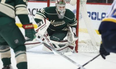 NHL: MAR 21 Blues at Wild