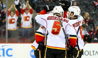 NHL: FEB 25 Flames at Devils