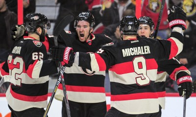 NHL: MAR 19 Bruins at Senators