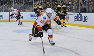 NHL: MAR 05 Flames at Bruins