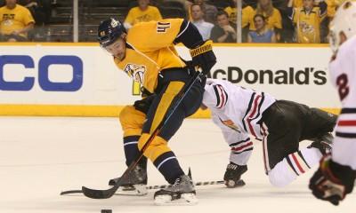 NHL: APR 15 Round 1 - Game 1 - Blackhawks at Predators