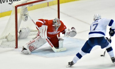 NHL: APR 27 Round 1 - Game 6 - Lightning at Red Wings