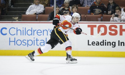 NHL: JAN 21 Flames at Ducks