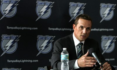 NHL: May 25 Steve Yzerman Tampa Bay Lightning Press Conference