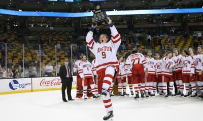NCAA HOCKEY: MAR 21 Hockey East Championship - Final - UMASS Lowell v Boston University