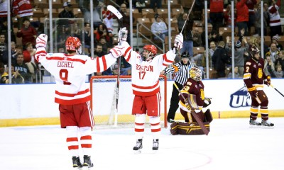 NCAA HOCKEY: MAR 28 Northeast Regional - Final - Minnesota-Duluth v Boston University