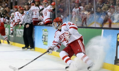 NCAA HOCKEY: APR 11 Div I Men's National Championship - Providence v Boston University
