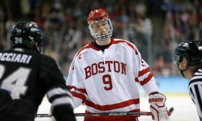 NCAA HOCKEY: APR 11 Div I Men's National Championship - Providence v Boston University