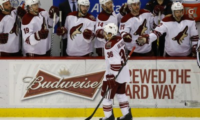 NHL: MAR 24 Coyotes at Red Wings