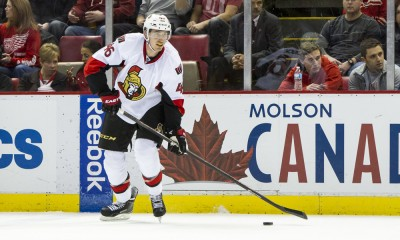 NHL: MAR 31 Senators at Red Wings