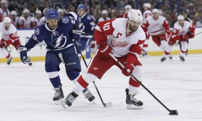 NHL: MAR 20 Red Wings at Lightning